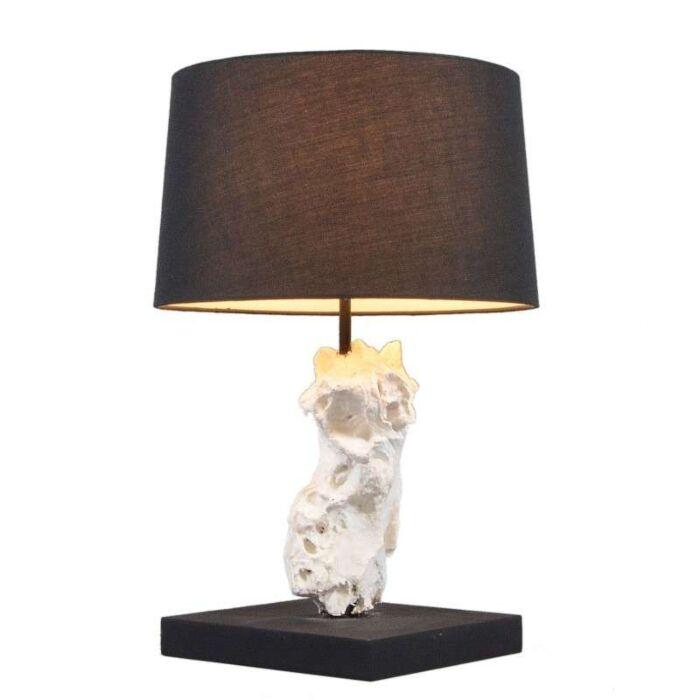 Lampe-de-table-Kanya-45-cm-blanc-abat-jour-noir