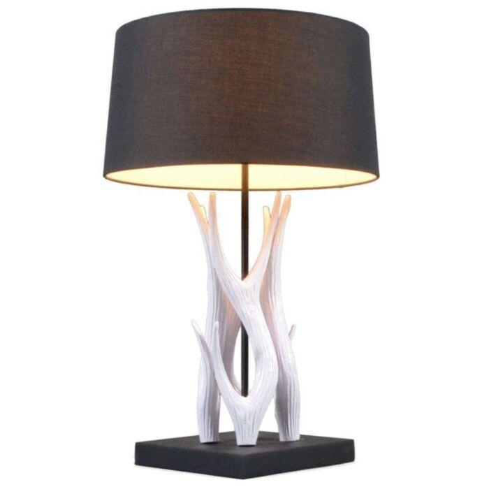 Lampe-de-table-Yindee-55-cm-blanc-abat-jour-noir