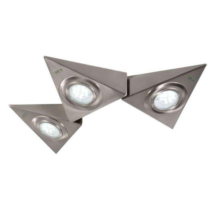 Set-de-3-spots-LED-triangulaires-Teun