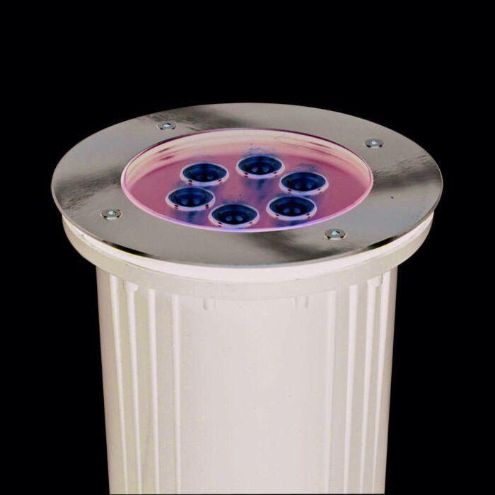 Spot-de-sol-LED-6-x-1W