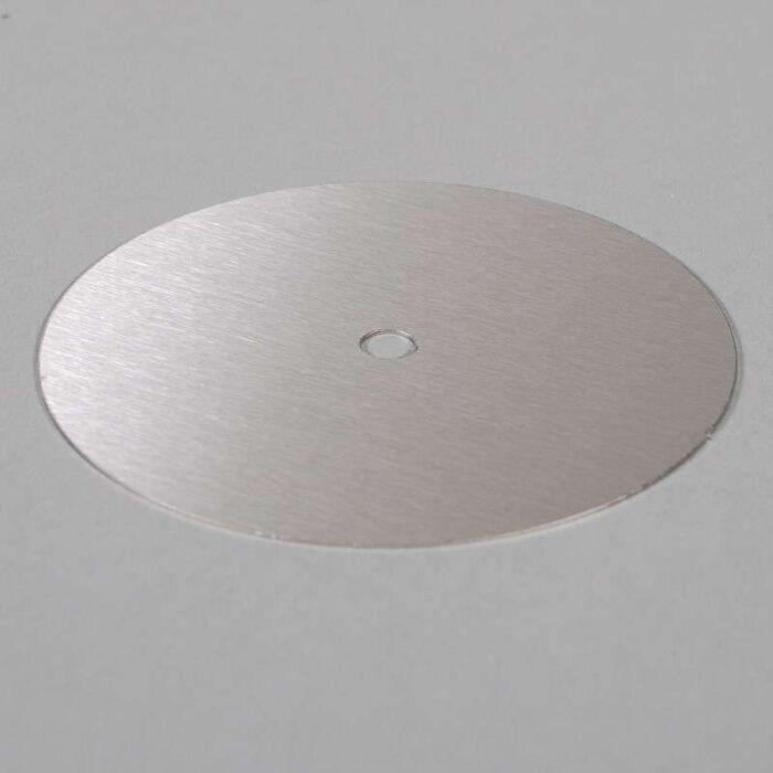Remplissage-en-acier-inoxydable-anneau-de-13cm-et-de-transit-de-câble-(trous-à-couper-vous-même)