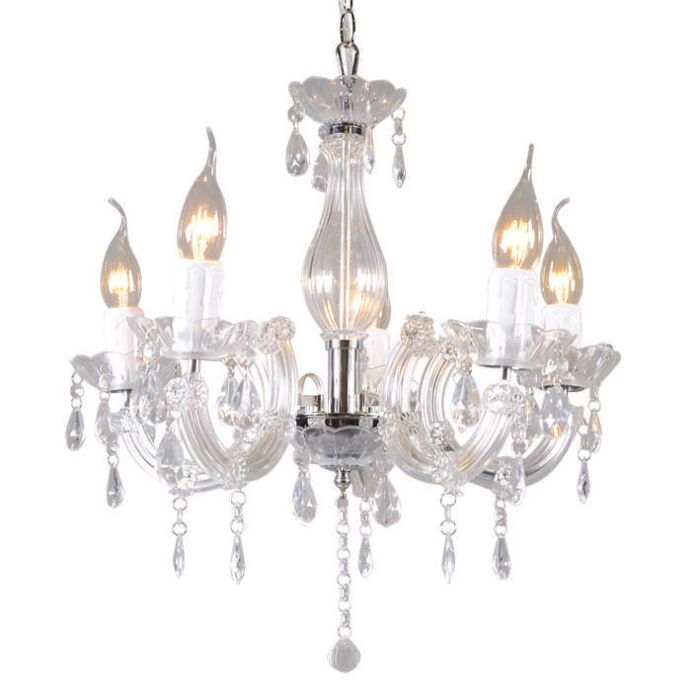 Lustre-Marie-Theresa-5-lumières-transparent