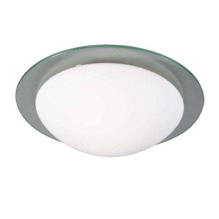 Plafonnier-Menta-30-cm-bordure-verre
