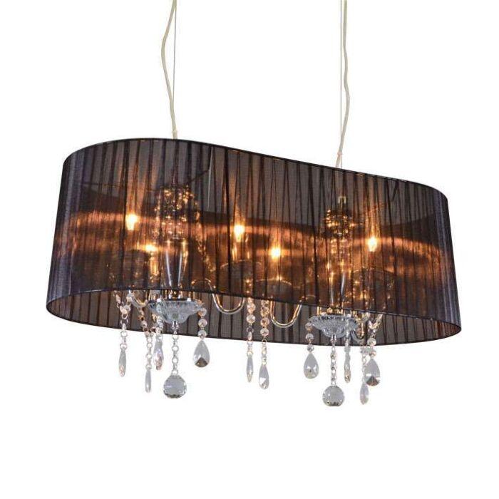 Lustre-chromé-noir-80-cm-6-lumières---Ann-Kathrin