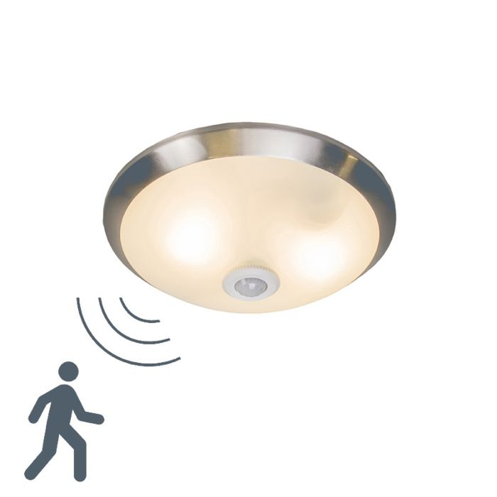 Plafonnier-Motion-III-acier-à-détecteur-de-mouvements