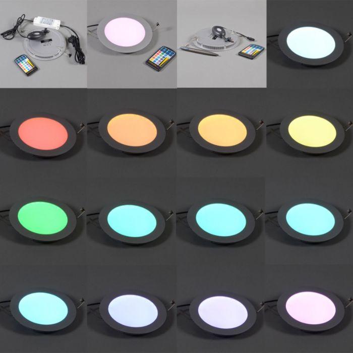 Lampe-encastrée-extra-plate-Radem-RGB
