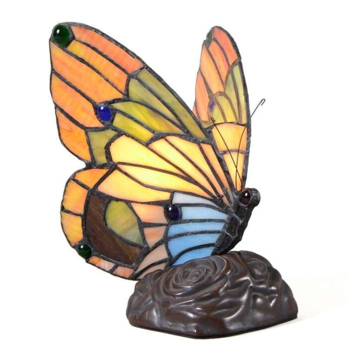 Lampe-de-table-Tiffany-Butterfly