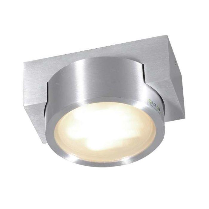 Plafonnier-Topaz-aluminium