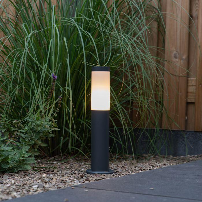 Lampadaire-d'extérieur-anthracite-45-cm-IP44---Rox