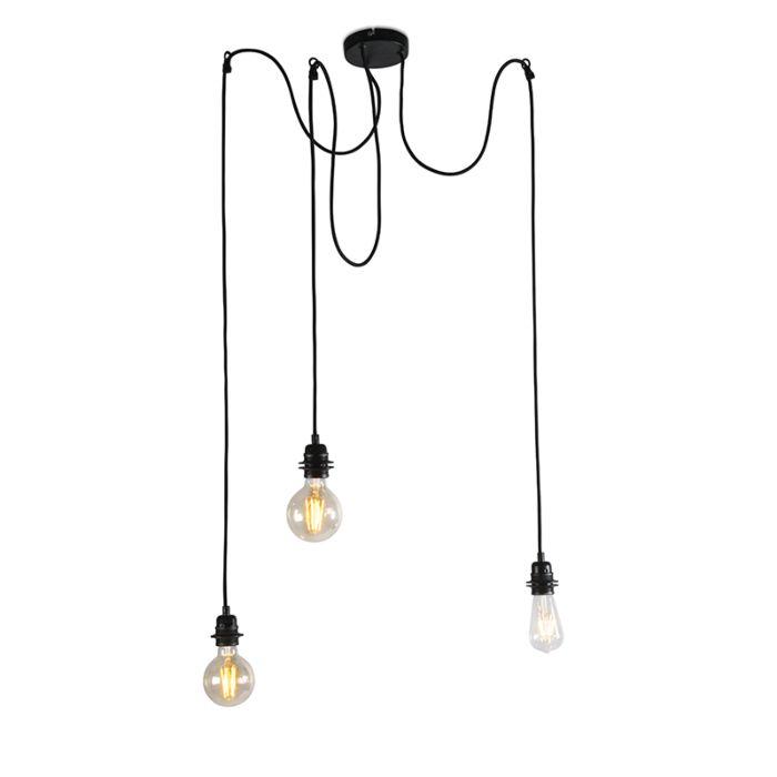 Lampe-à-suspension-industrielle-noire---Cava-3
