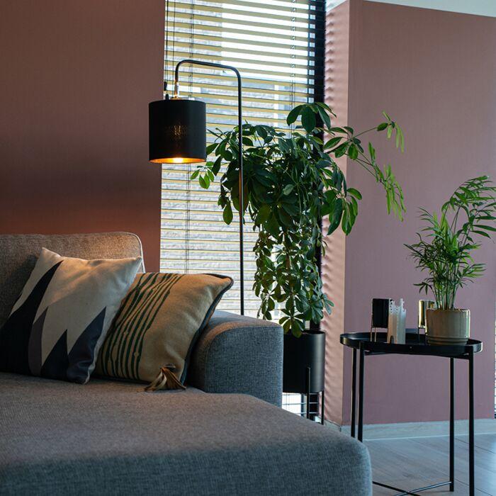 Lampadaire-moderne-noir---Lofty