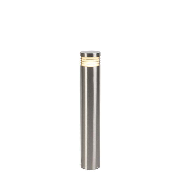 Lampe-d'extérieur-sur-pied-moderne-en-acier-60-cm-IP44---Doc