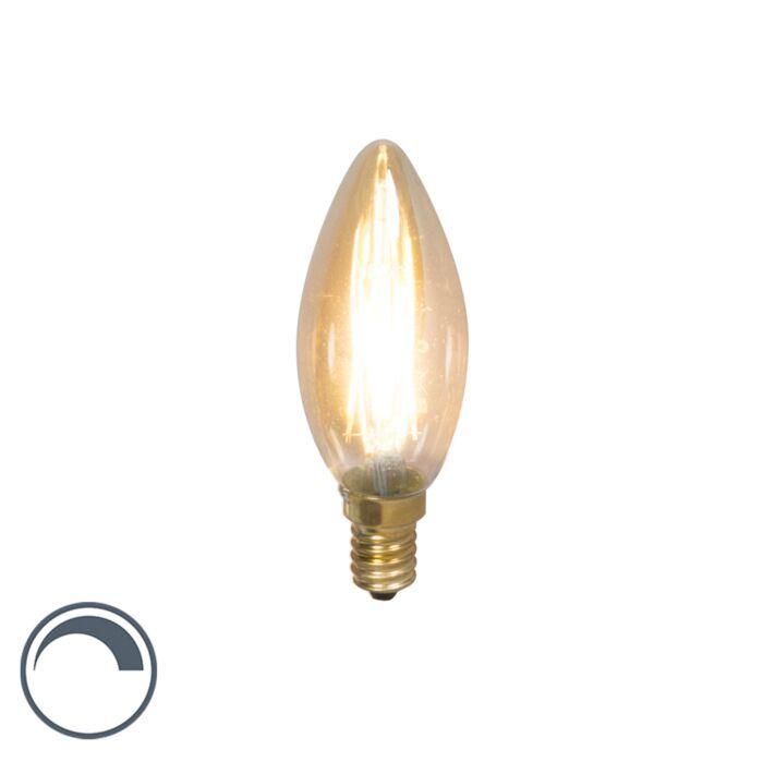 Lampe-à-bougie-à-filament-LED-dimmable-E14-3.5W-200lm-2100-K