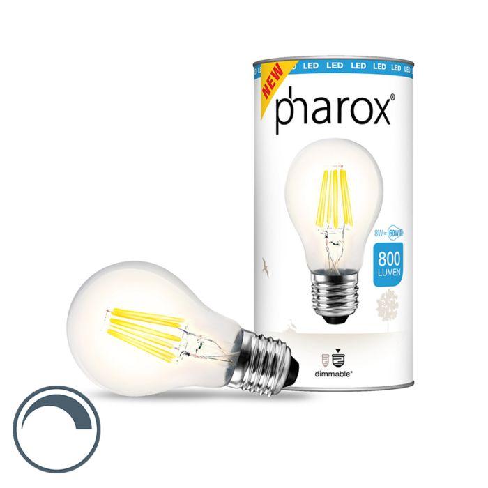 Ampoule-LED-Pharox-brillant-E27-8W-800-lumen