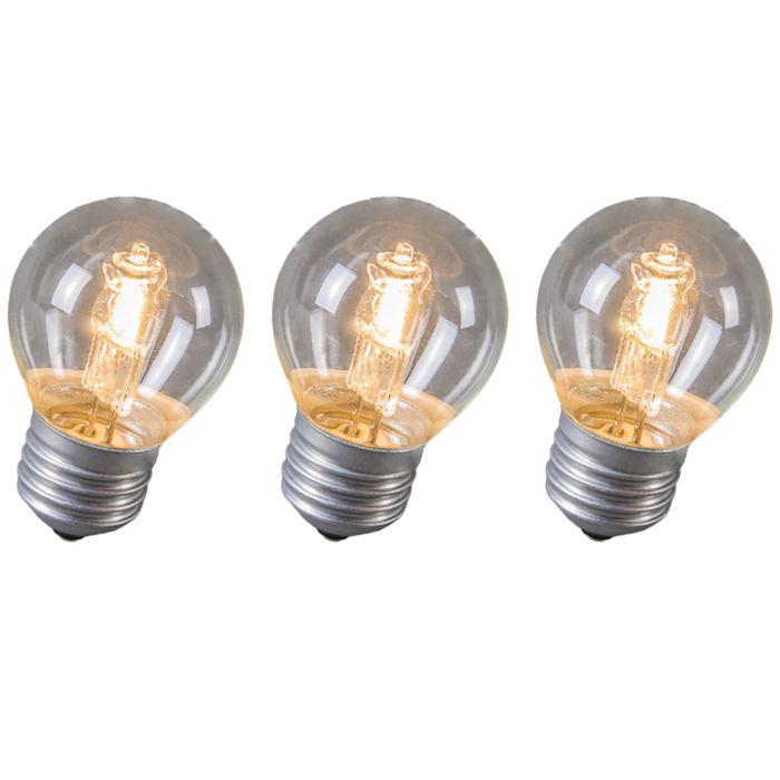 Ampoule-Halogène-Kogel-E27-28W-Pack-de-3