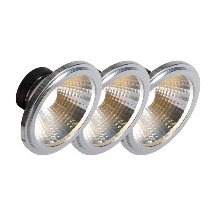 AR111-lampe-LED-COB-7W-24°-set-de-3