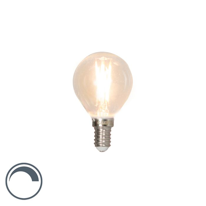 Lampe-à-bille-à-filament-LED-dimensionnée-E14-3W-350lm-2700K