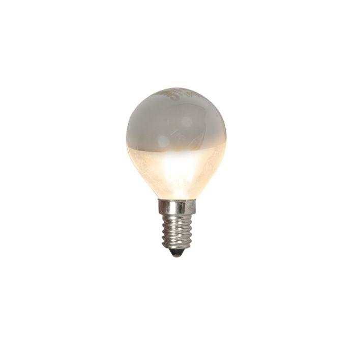 E14-LED-boule-lampe-tête-miroir-4W-370lm-2700-K