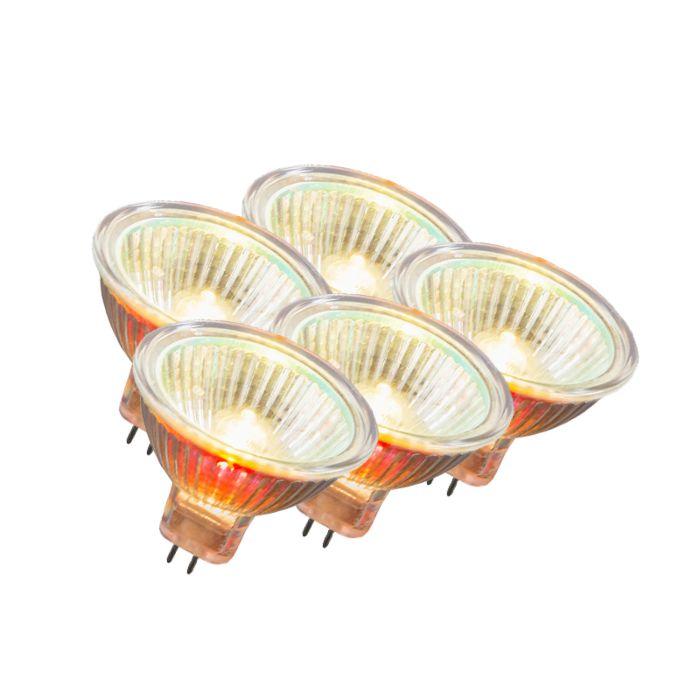Set-de-5-halogènes-MR16-35W-12V