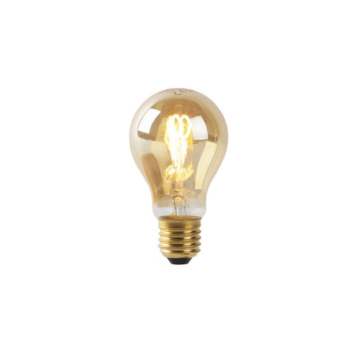 E27-LED-filament-spiralé-doré-A60-2W-90-lm-2200K