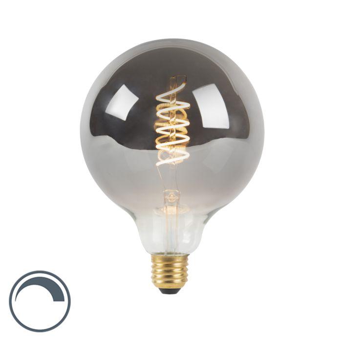Lampe-à-filament-torsadée-LED-E27-dimmable-fumée-4W-100-lm-2100K