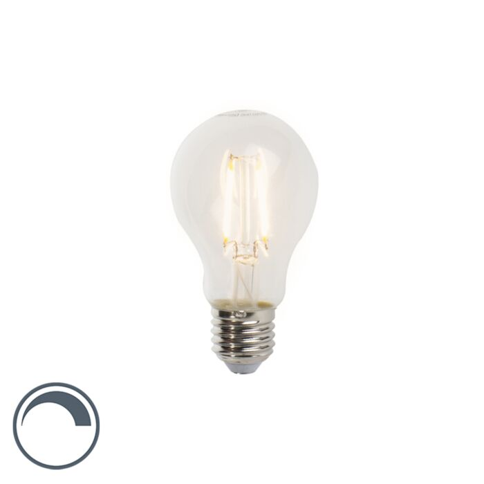 Lampe-à-incandescence-LED-E27-5W-470lm-A60-Variable-Clair