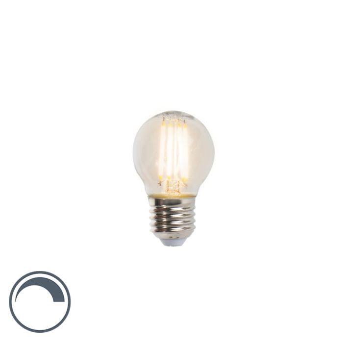 Lampe-balle-à-filament-à-LED-E27-5W-470lm-P45-dimmable