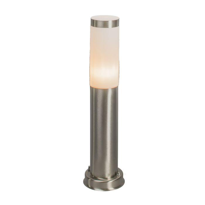 Lampadaire-d'extérieur-moderne-acier-45-cm-IP44---Rox