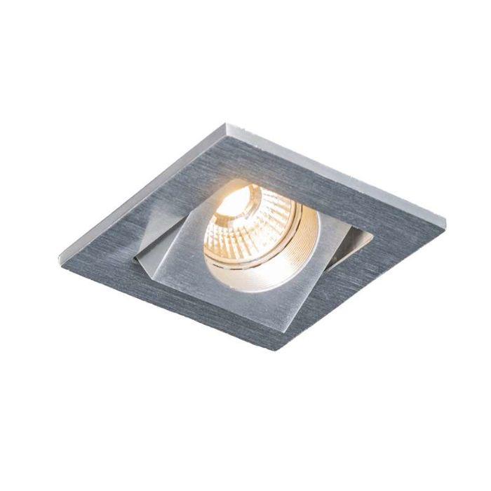 LED-encastré-Quale-carré-aluminium