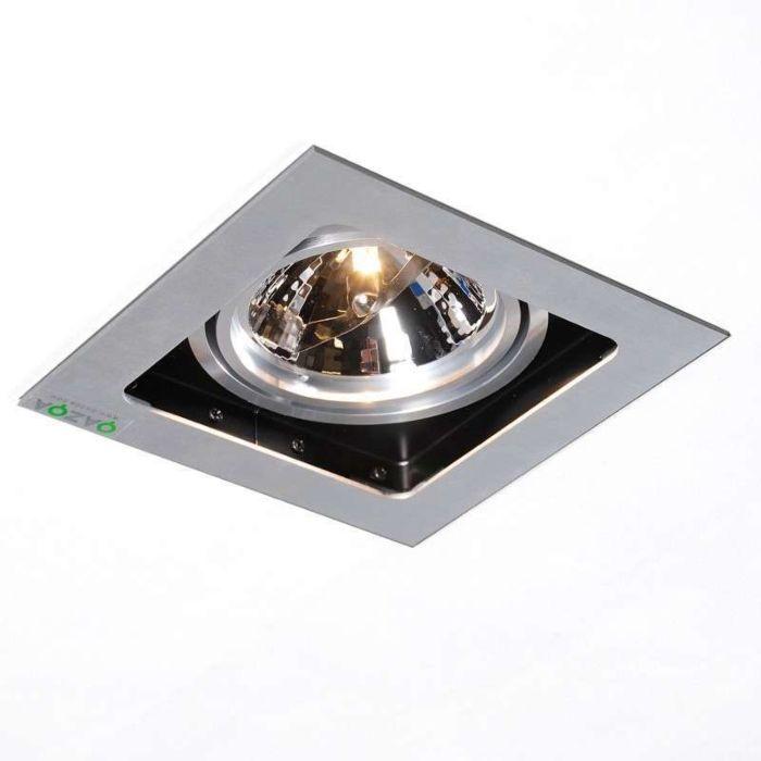 Ensemble-1-spots-encastré-Qure-aluminium
