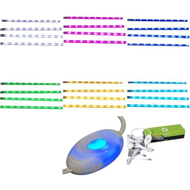 Set-4-bandes-LED-RGB