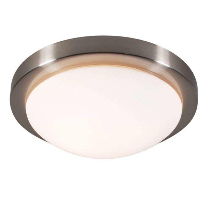 Plafonnier-Bailey-33-lumières-acier