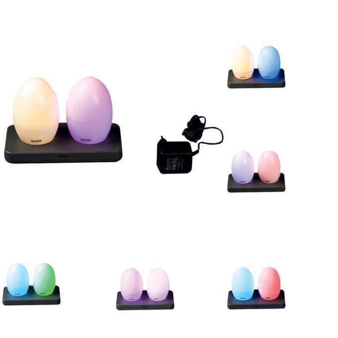 Set-2-lampes-LED-rechargeables-RGB-EGG