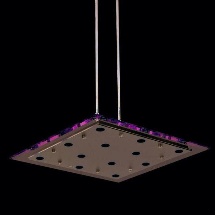 Suspension-Credo-carré-55-cm-transparent