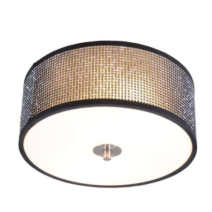 Plafonnier-Drum-30cm-diamant