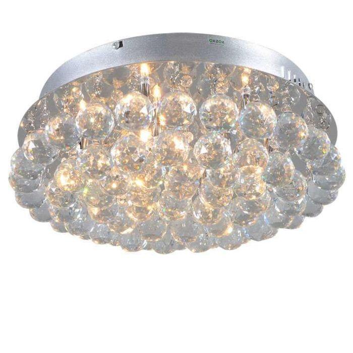 Plafonnier-Diamond-40cm-chrome