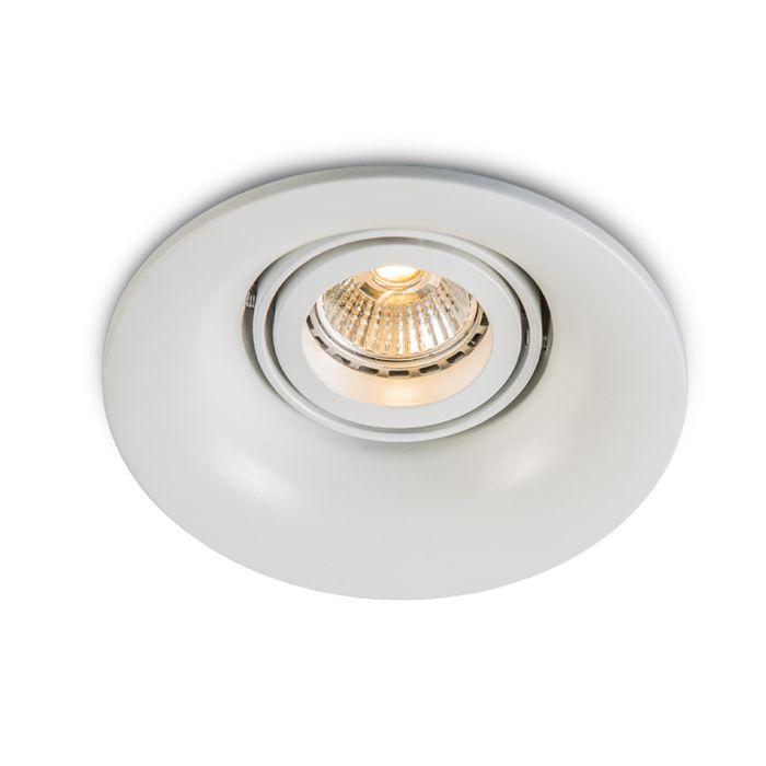 Spot-à-encastrer-LED-Punch-blanc