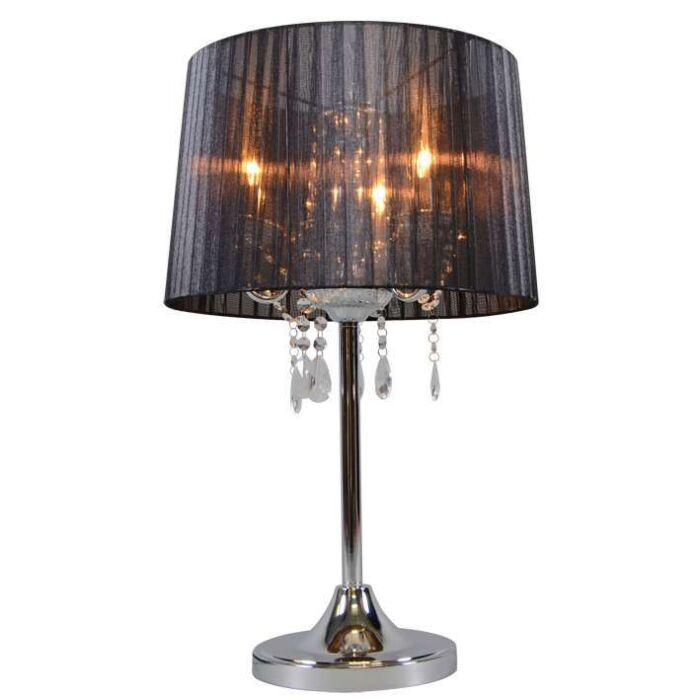 Lampe-de-table-classique-chrome-avec-abat-jour-noir---Ann-Kathrin-3