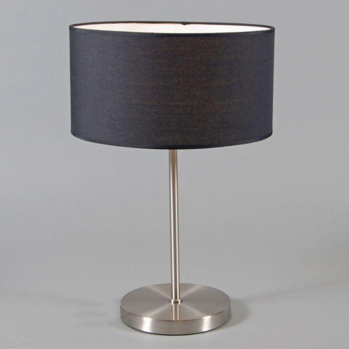 Lampe-de-table-Lugar-abat-jour-noir