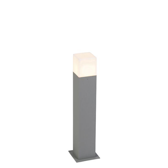 Lampadaire-d'extérieur-moderne-50-cm-gris-IP44---Danemark