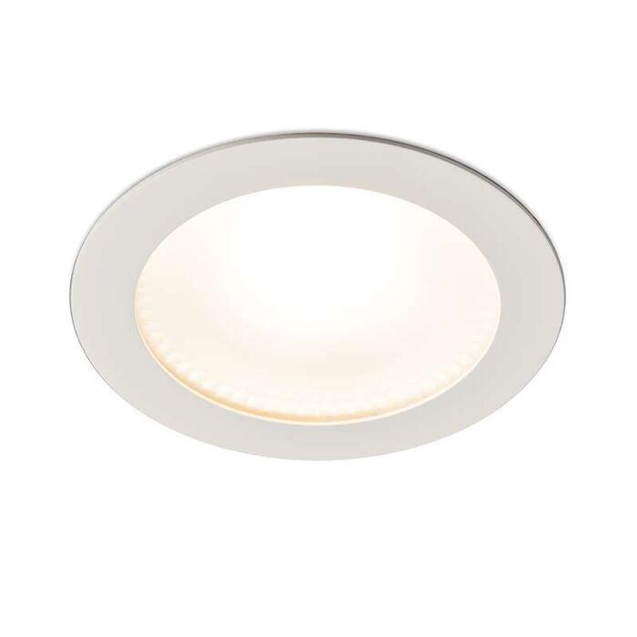 Spot-encastrable-moderne-blanc-LED-incl.-15W---Invaser