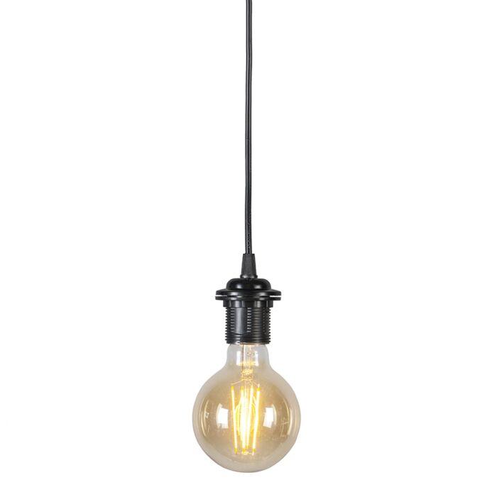 Pendentif-80-cm-E27-noir