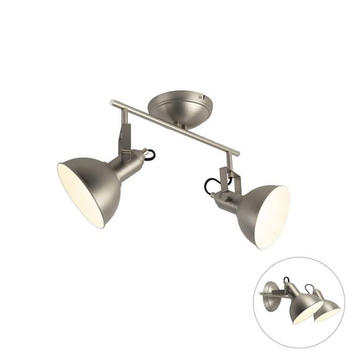 Spot-Industriel-acier-2-lumières---Tommy