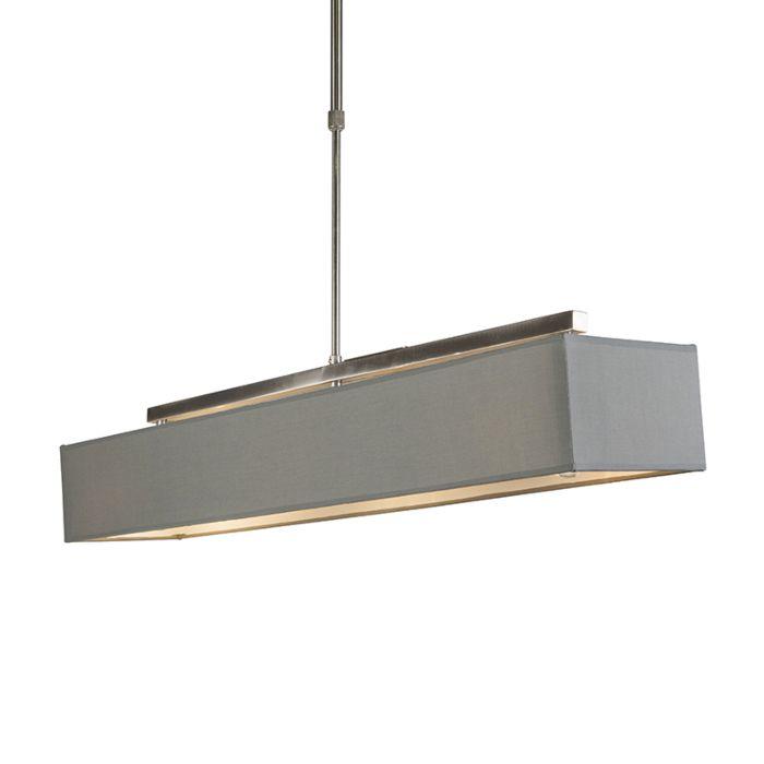 Lampe-suspendue-moderne-gris---VT-1