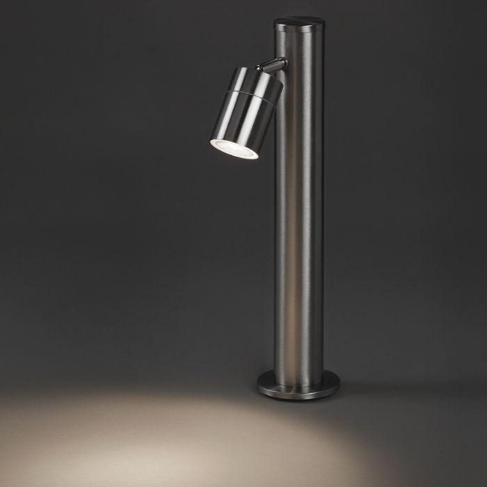 Lampe-d'extérieur-moderne-acier-45-cm-réglable---Solo