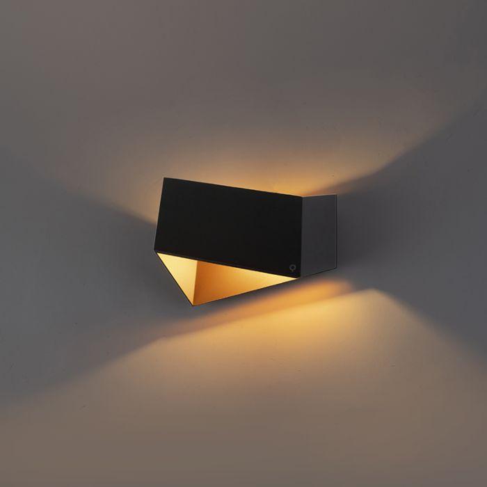 Applique-design-noire-avec-doré---Fold