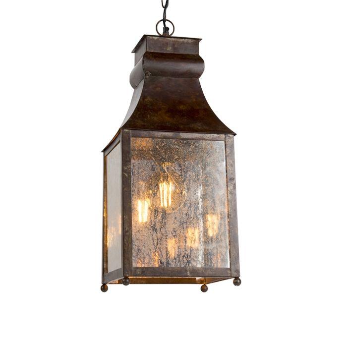 Lampe-suspendue-Agilan-rouille