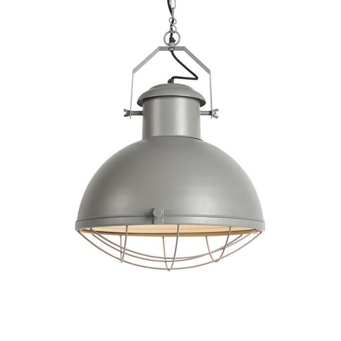 Lampe-suspendue-Engine-grise