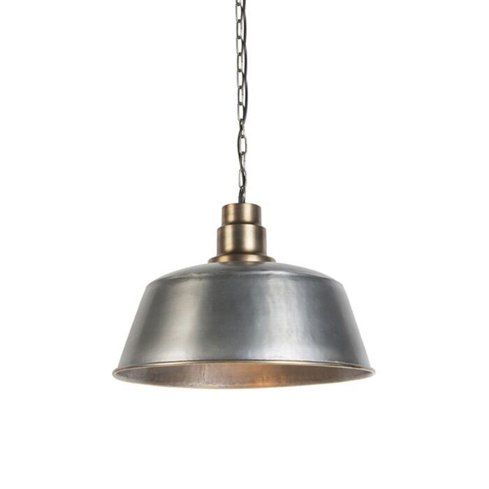 Lampe-suspendue-Kanan-blanc-acier