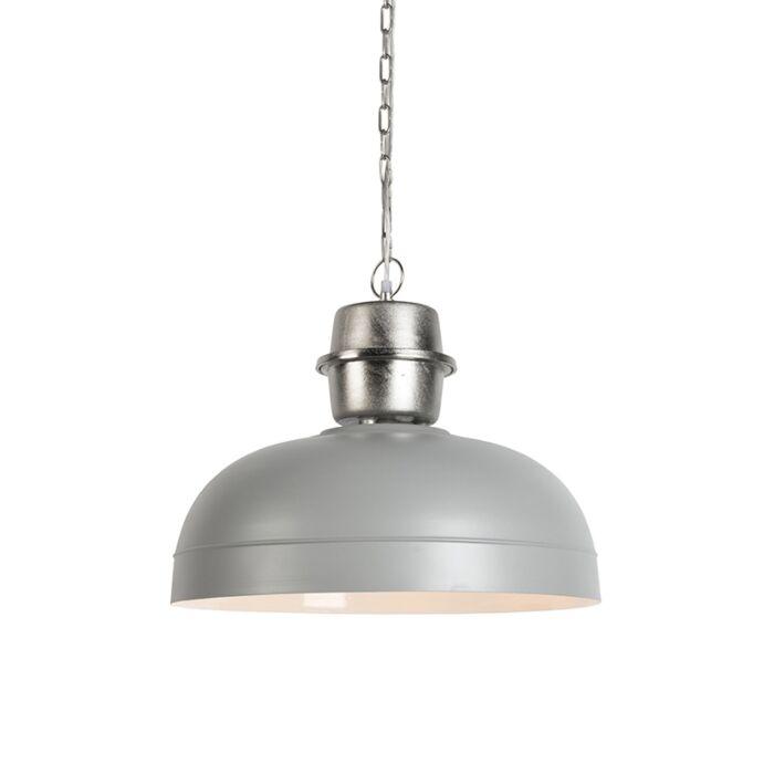 Lampe-suspendue-Sani-gris